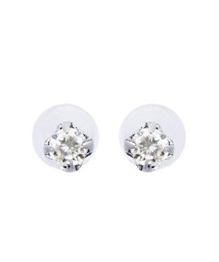 Pt900 天然ダイヤモンド 計0.05ct スタッド プラチナ プチピアス