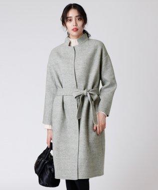 [soeur7]マオカラー ロングコート
