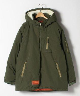 大きいサイズ T/Cウェザー 中綿 ミリタリージャケット