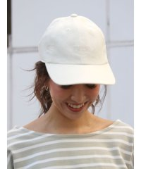 リネン混CAP