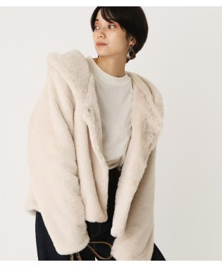 ECO FUR FOOD SHORT COAT