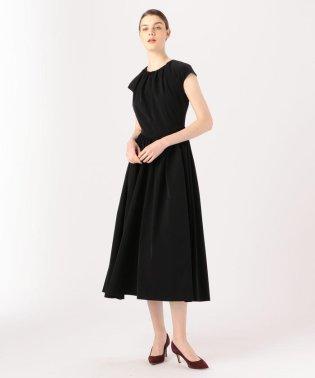 BAUME The Black Contemporary ギャザードドレス