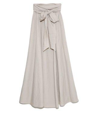 【emmi yoga】2wayロングフレアースカート