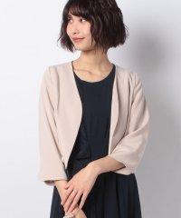 裾スカラップジャケット