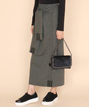 SCOTCLUB(スコットクラブ) ラインデザインベルトスカート