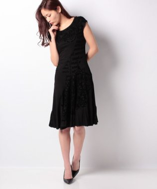 WOMAN KNIT DRESS SLEEVELESS