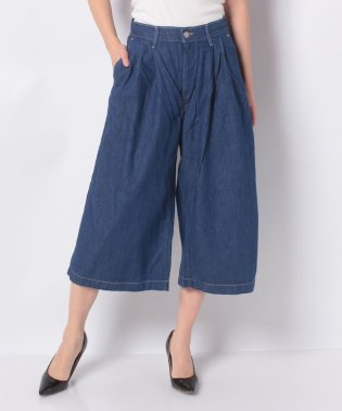 WIDE LEG PLEATED CROP ENGLISH DEPARTMENT