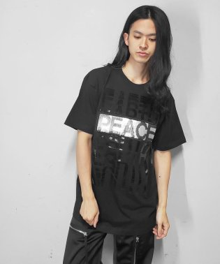 TAAKK(ターク)T-SHIRTS/スパンコール/Tシャツ