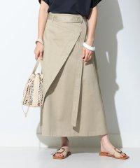 ATON / ウエストポイント スカート
