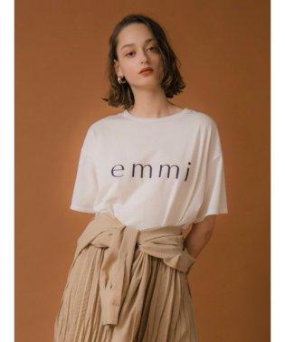 【emmi yoga】ビッグロゴTシャツ