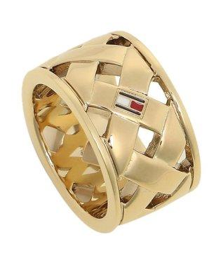 トミーヒルフィガー リング アクセサリー TOMMY HILFIGER 2701024 BASKET WEAVE RING レディース 指輪 ゴールド 54(1