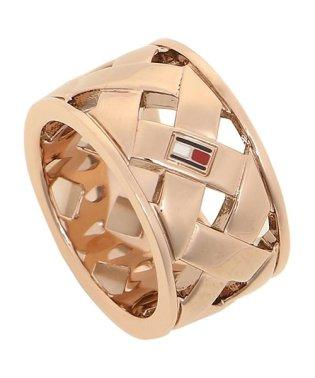 トミーヒルフィガー リング アクセサリー TOMMY HILFIGER 2701025 BASKET WEAVE RING レディース 指輪 ローズゴールド 5