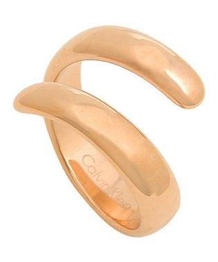 カルバンクライン リング アクセサリー CALVIN KLEIN KJ2KPR1001 EMBRACE RING レディース 指輪 ピンクゴールド US6号(約