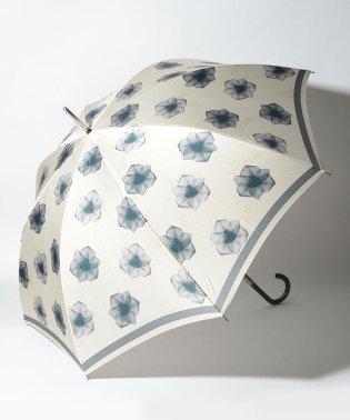 LANVIN COLLECTION(ランバン コレクション)婦人長傘 インクジェットプリント【花モチーフ】