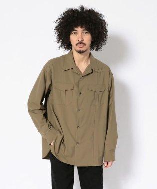 LUSOR(ルーソル)オープンカラーシャツ