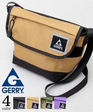 【GERRY/ジェリー】バイカラーミニメッセンジャーバッグ