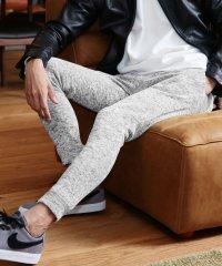 ストレッチインナーフリースジョガーパンツ / フリース 裏起毛 暖 パンツ ジョガー メンズ スウェット スエット ストレッチ