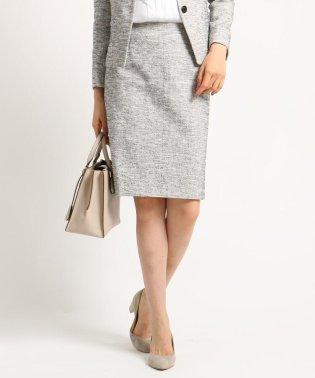 【ママスーツ/入学式 スーツ/卒業式 スーツ】ツィーディージャージタイトスカート