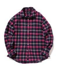 SC: フェザー チェック レギュラーカラー ネルシャツ 2