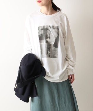 POET MEETS DUBWISE PHOTOロングTシャツ◆