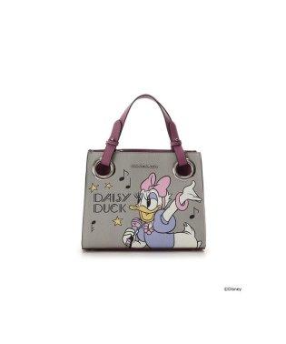 『ドナルド&デイジー』コレクション ロゴベルトスクウェアバッグ