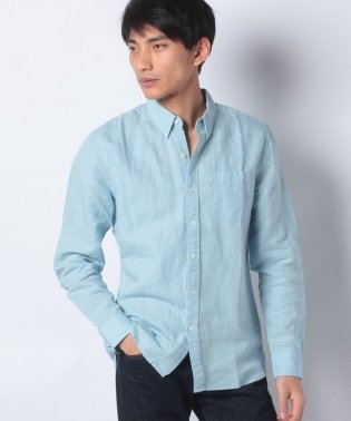 SUNSET 1 POCKET SHIRT ARCTIC BLUE