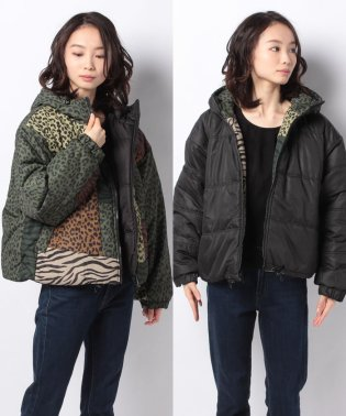 PATCHWORK PUFFER JACKET