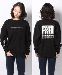 PSYCHEDELIC FACE CREW SWEAT TOP