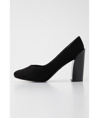 chunky heels pumps