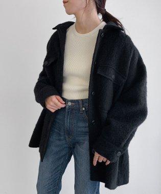 【セットアップ対応】シャギーCPOジャケットコート