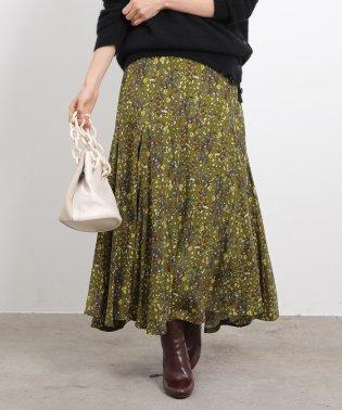 ロングマーメードスカート