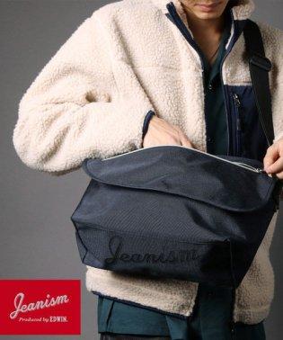 【別注】【JEANISM EDWIN】底ロゴメッセンジャーバッグ