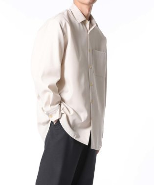 【NIKKE/日本毛織】レギュラーカラーシャツ/ビッグシルエット