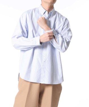 プレミアムコットン BDシャツ/ビッグシルエット
