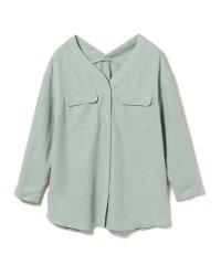 Ray BEAMS / ダブル ポケット Vネックシャツ