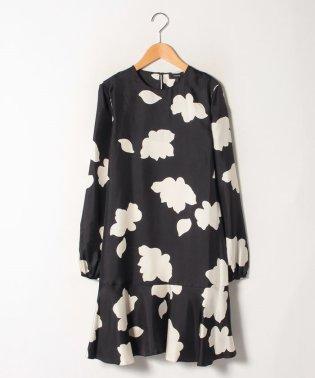 【テレビ着用】ドレス PETAL SILK LARGE FLARED D