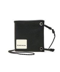 ビームスデザイン 財布 BEAMS DESIGN 二つ折り財布 ネックウォレット 9B-SERIES リフレクション 本革 レザー BMMW9BS2