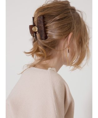 Marble Stone Hair Clip