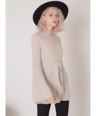 Flare Sleeve Medium Knit