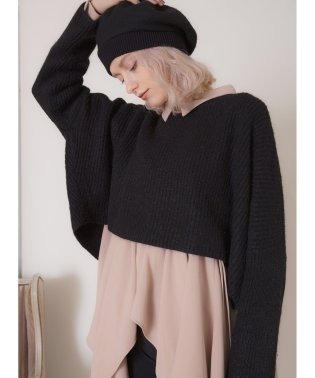 Cropped Square Knit