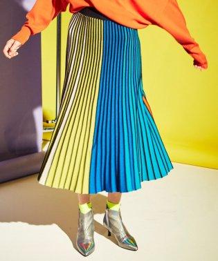 ◆◆カラープリーツスカート