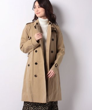 Woman's Kensington Long Trench Coat