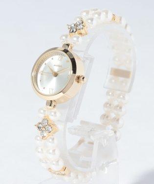 〈nattito/ナティート〉pearl watch/パールウォッチ ポルカ