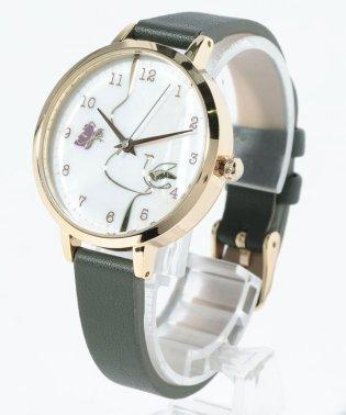〈nattito/ナティート〉gold line shell watch ペタジーニ
