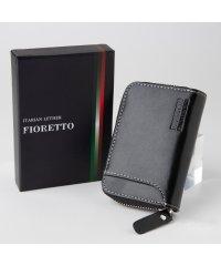 牛革 イタリアンレザー コンパクト財布(ファスナータイプ)