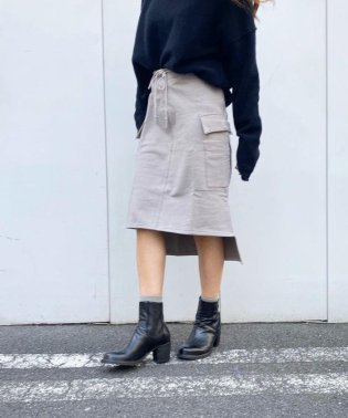 nude:masahiko maruyama(ヌード マサヒコマルヤマ)別注スウェットスカート