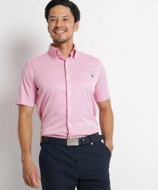 【吸水速乾/UVカット】アダバット×HITOYOSHI SHIRTS 半袖ボタンダウンシャツ