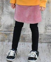 レギ付きコーデュロイスカート