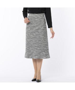 [セットアップ対応]ファンシーニットのフレアースカート