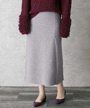 【ROSSO】ニットタイトスカート